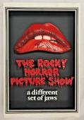 TIM CURRY Signed Rocky Horror Picture Show SHADOW BOX Beckett BAS COA