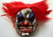 Tim Curry Signed Stephen Kings IT Pennywise Clown Costume Mask PSA/DNA COA #2