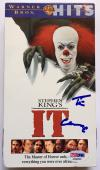 Tim Curry Signed Stephen Kings IT Pennywise Movie Original VHS Tape PSA/DNA COA