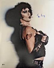 TIM CURRY Signed The Rocky Horror Picture Show 16x20 Photo Beckett BAS COA