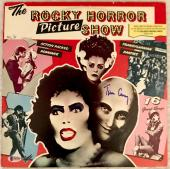TIM CURRY Signed The Rocky Horror Picture Show LP Record Laser BAS COA AUTO