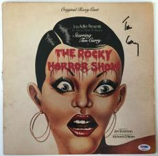 TIM CURRY Signed The Rocky Horror Picture Show LP Record PSA/DNA COA Autograph A
