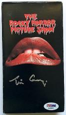 Tim Curry Signed The Rocky Horror Picture Show Original VHS Tape PSA/DNA COA
