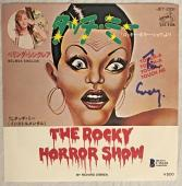 Tim Curry Signed The Rocky Horror Picture Show Record Cover Beckett Bas Auto Coa