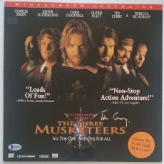 TIM CURRY Signed The Three Musketeers Laser Disc LP Record BAS COA Autograph