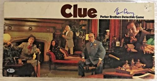 TIM CURRY Signed Vintage 1972 CLUE Game Box Autographed Auto BAS Beckett COA
