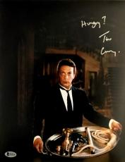 TIM CURRY Signed WADSWORTH CLUE 11x14 Photo AUTOGRAPHED Beckett BAS COA