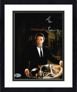 TIM CURRY Signed WADSWORTH in CLUE 8x10 PHOTO AUTOGRAPH BAS COA D