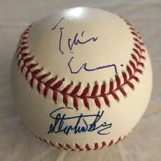 Tim Curry Stephen King Signed MLB Baseball IT Autographed JSA BAS Beckett COA