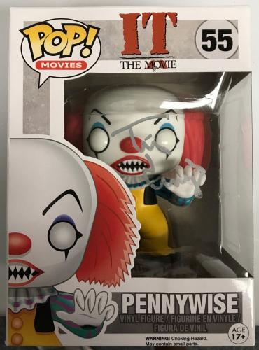TIM CURRY (Steven King's IT-Pennywise) signed Pop Funko figure