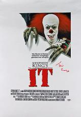 Tim Curry Steven King's It Signed 12x18 Canvas PSA/DNA #AA60630