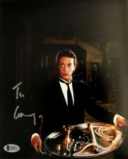 TIM CURRY WADSWORTH Signed CLUE 8x10 Photo Autograph Auto Beckett BAS COA