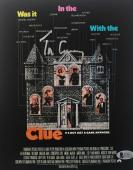TIM CURRY WADSWORTH Signed CLUE Movie Poster 8x10 Photo Auto Beckett BAS COA