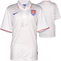 Tim Howard Team USA Autographed White Jersey