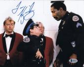 Tim Kazurinsky Signed Police Academy 8x10 Photo Autograph Beckett BAS #B19114