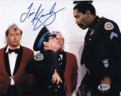 Tim Kazurinsky Signed Police Academy 8x10 Photo Autograph Beckett BAS #B19115