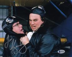 Tim Kazurinsky Signed Police Academy 8x10 Photo Autograph Beckett BAS #B19116