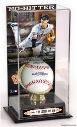 "Tim Lincecum San Francisco Giants No-Hitter Gold Glove 10"" x 5.5"" Baseball Display Case"