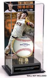 Tim Lincecum San Francisco Giants No-Hitter Gold Glove Baseball Display Case