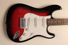 Tim McGraw Authentic Signed Harmonia Electric Guitar JSA #Z07048