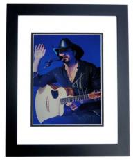 Tim McGraw Signed - Autographed 11x14 inch Photo BLACK CUSTOM FRAME - Guaranteed to pass PSA or JSA