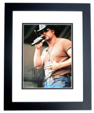 Tim McGraw Signed - Autographed Concert 11x14 inch Photo BLACK CUSTOM FRAME - Guaranteed to pass PSA or JSA