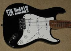 Tim Mcgraw Autographed Guitar (w/ Proof!)