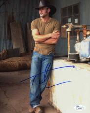 TIM MCGRAW Autographed Signed 8x10 Photo Certified Authentic JSA AFTAL COA