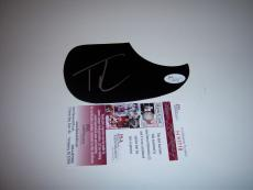 Tim Mcgraw Country Music Hall Of Fame Jsa/coa Signed Guitar Pick Guard