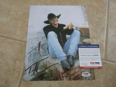 Tim McGraw Sexy Signed Autographed 8x10 Promo Photo PSA Certified