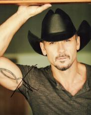 Tim McGraw Signed - Autographed Country Music Singer 8x10 inch Photo - Guaranteed to pass PSA or JSA