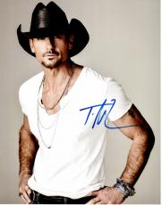 Tim McGraw Signed - Autographed Country Singer 11x14 inch Photo - Guaranteed to pass PSA or JSA