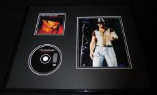 Tim McGraw Signed Framed 16x20 CD & Photo Display B