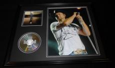 Tim McGraw Signed Framed 16x20 CD & Photo Display