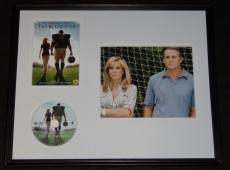 Tim McGraw Signed Framed Blind Side 16x20 Photo & DVD Display JSA