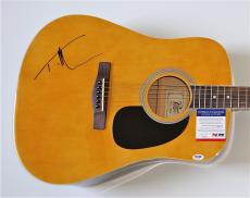 Tim Mcgraw Signed Guitar Psa Coa P64019