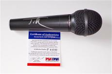 Tim Mcgraw Signed Microphone Psa Coa P64349
