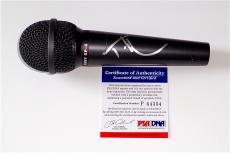 Tim Mcgraw Signed Microphone Psa Coa P64354