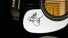 Tim Reynolds Dave Matthews Band Signed Acoustic Guitar AFTAL
