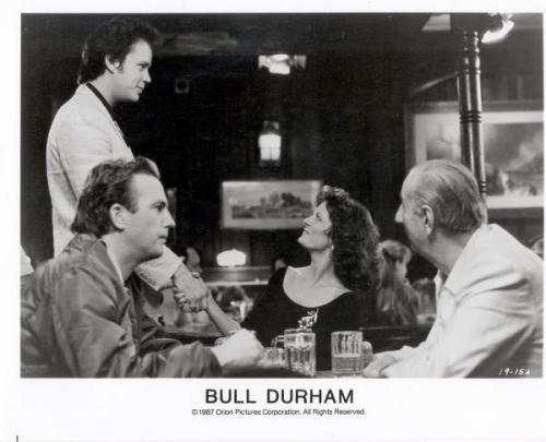 Tim Robbins Kevin Costner Susan Sarandon Max Patkin Bull Durham 8x10 photo Image #2