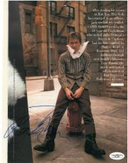Tim Roth Signed Authentic Autographed 8x11 Magazine Page JSA COA #E51303