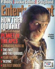 Tim Roth Signed Auto Entertainment Magazine PSA/DNA COA
