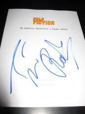 "Tim Roth Signed Autograph ""pulp Fiction"" Movie Script Travolta Tarantino Rare D"