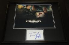 Tim Roth Signed Framed 16x20 Poster Photo Display The Hulk