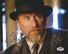 Tim Roth Signed H8tful Eight 8x10 PSA/DNA #AA54381