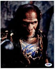 Tim Roth Signed Planet of the Apes Autographed 8x10 Photo PSA/DNA #X67971