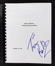 Tim Roth Signed Reservoir Dogs Movie Script Autographed BAS #B71596