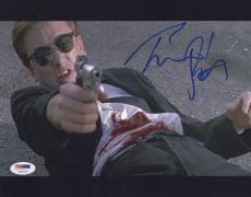 Tim Roth Signed 'reservoir Dogs' Mr Orange Psa/dna Coa