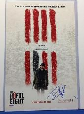 Tim Roth Signed The H8ful Eight 11x17 Photo PSA Cert# AA54415