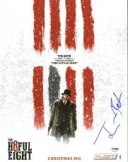 Tim Roth The H8ful Eight Signed 11X14 Photo PSA/DNA #AA43288
